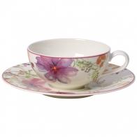 Filiżanka do herbaty ze spodkiem 0,24 l Mariefleur Tea Villeroy & Boch 10-4217-1260