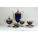 Serwis Matylda kobaltowy do herbaty dla 6 osób- 15 części