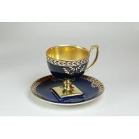 Filiżanka do herbaty Matylda kobaltowa