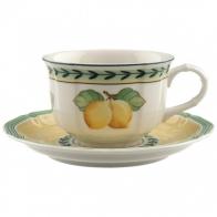 Filiżanka do herbaty ze spodkiem 0,2 l French Garden Fleurence Villeroy & Boch 10-2281-1260