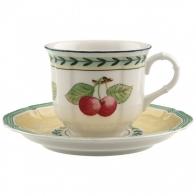 Filiżanka do kawy ze spodkiem 0,2 l French Garden Fleurence Villeroy & Boch 10-2281-1290