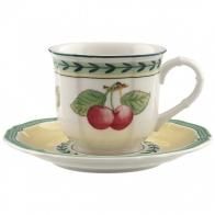 Filiżanka do espresso ze spodkiem 0,2 l French Garden Fleurence Villeroy & Boch 10-2281-1410