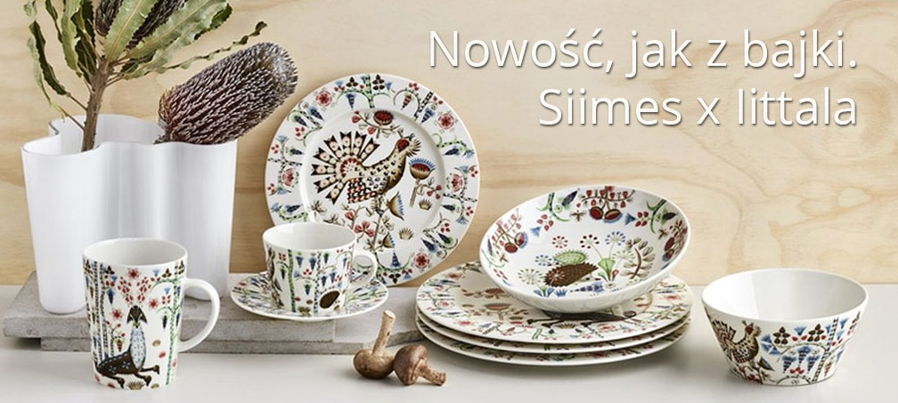 Iiittala sklep taika siimes porcelana finska