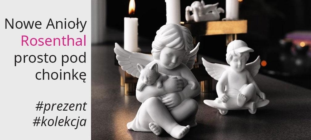 Rosenthal sklep porcelana anioly figurki kolekcja prezent na swieta
