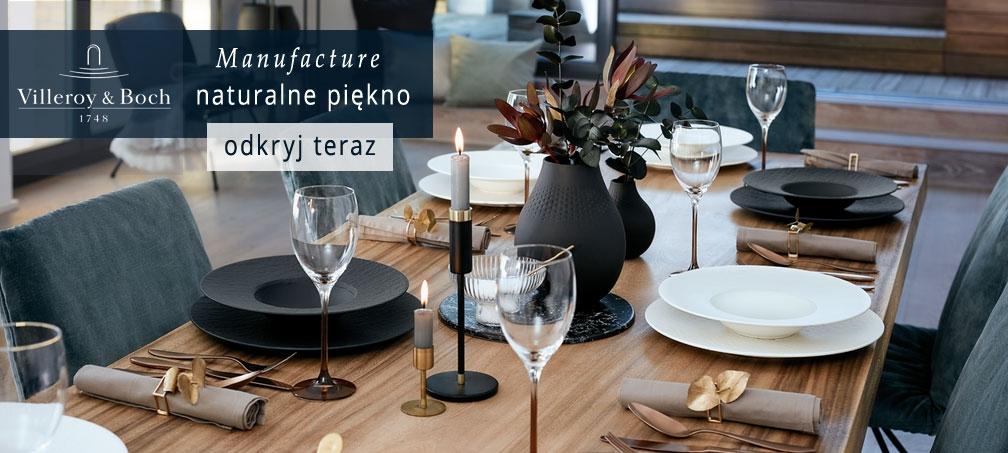 Villeroy Boch porcelana sklep Manufakcture nowa kolekcja promocja